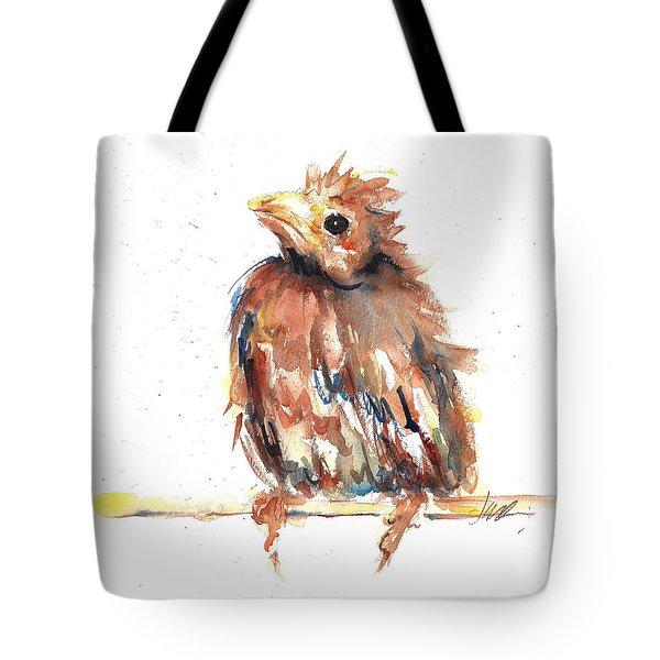 Baby Cardinal - New Beginnings Tote Bag
