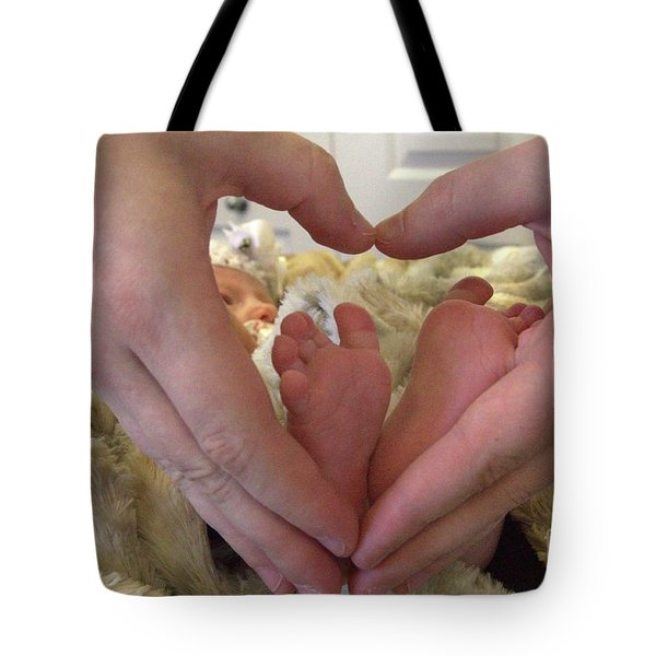 Baby Toes Tote Bag