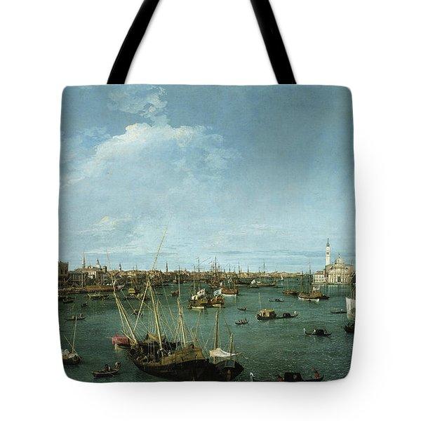 Bacino Di San Marco, Venice Tote Bag
