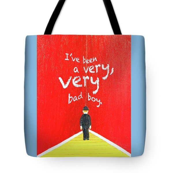 Bad Boy Greeting Card Tote Bag