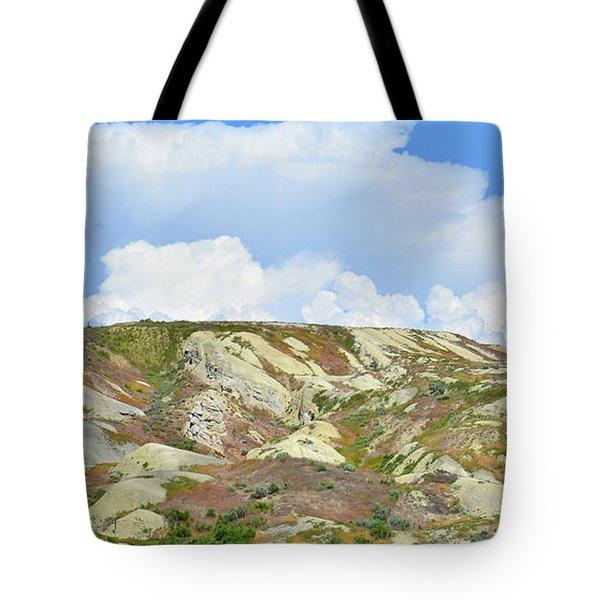 Badlands In Wyoming Tote Bag