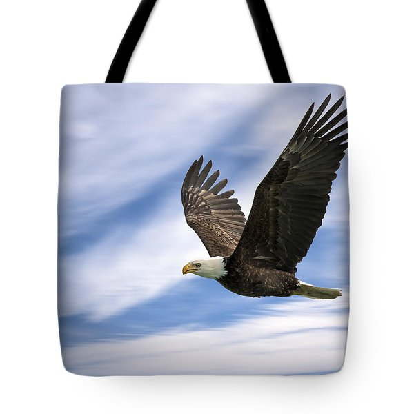 Bald Eagle - 365-12 Tote Bag
