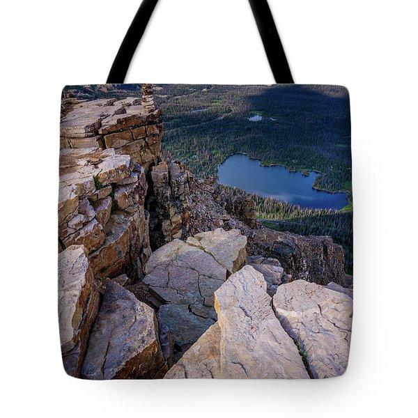 Bald Mountain - Mirror Lake - Uinta Mountains - Utah Tote Bag