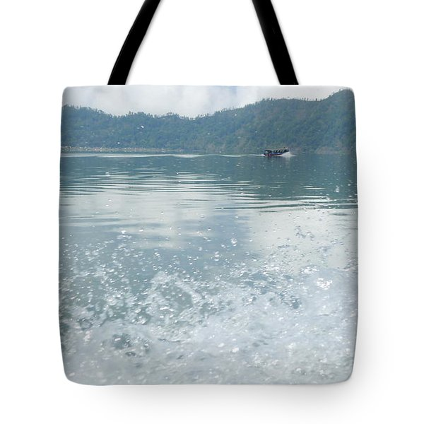 Tote Bag featuring the photograph Bali River  by Nora Boghossian