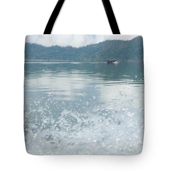 Bali River  Tote Bag