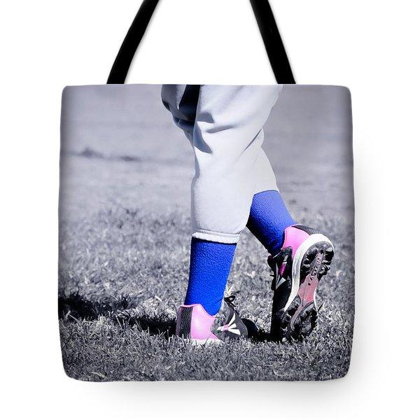 Ball Player Tote Bag