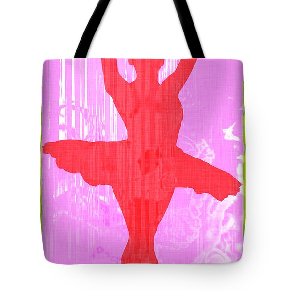 Ballet Dancer Tote Bag by David G Paul