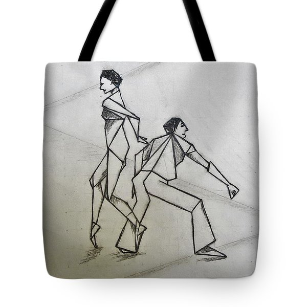 Ballet Practice Tote Bag