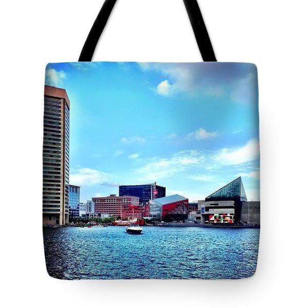 Baltimore's Inner Harbor Tote Bag