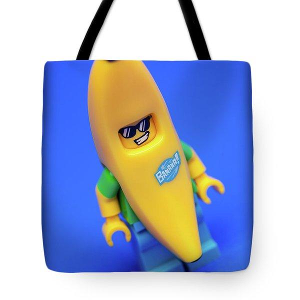 Banana Man Tote Bag by Samuel Whitton