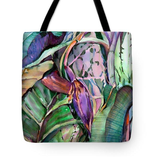 Banana Pod Tote Bag by Mindy Newman