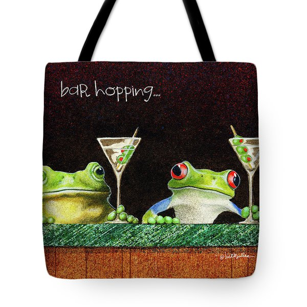 Bar Hopping... Tote Bag
