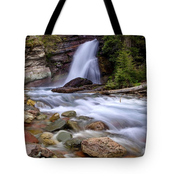 Baring Falls Tote Bag by Jack Bell