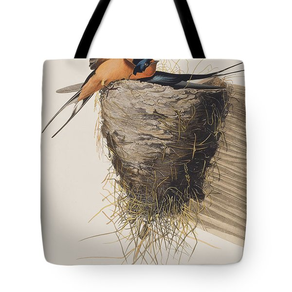 Barn Swallow Tote Bag by John James Audubon