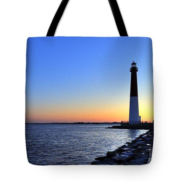Barnegat Lighthouse Tote Bag by John Greim