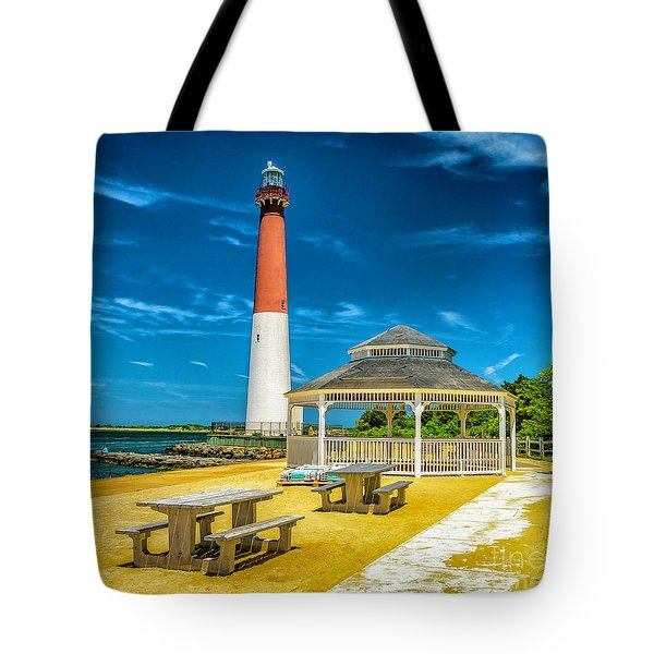Barnegat Lighthouse Park Tote Bag