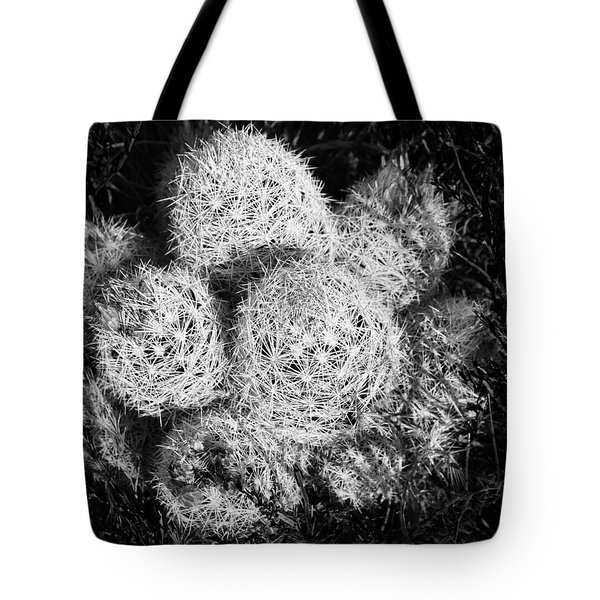 Barrel Cactus In Bloom. Tote Bag