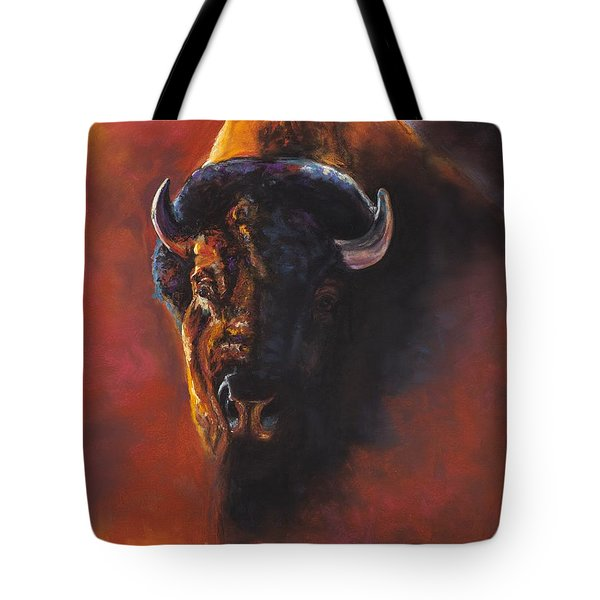 Basking In The Evening Glow Tote Bag