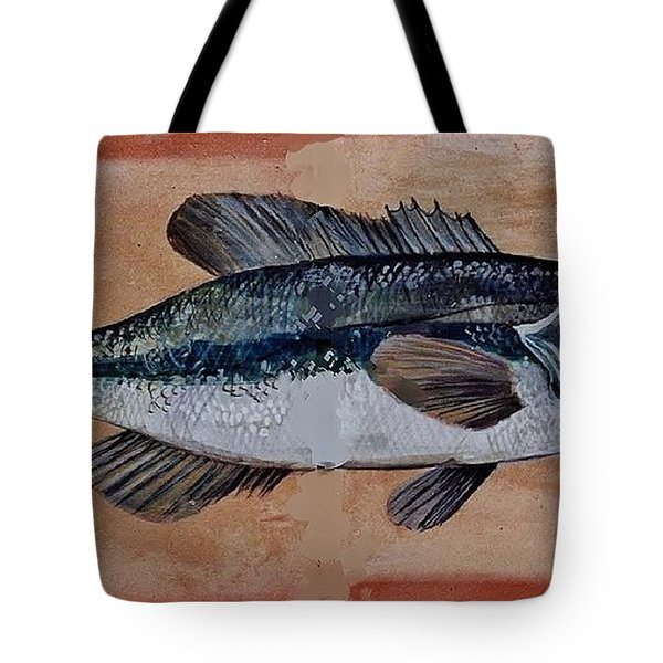 Bass Tote Bag by Andrew Drozdowicz