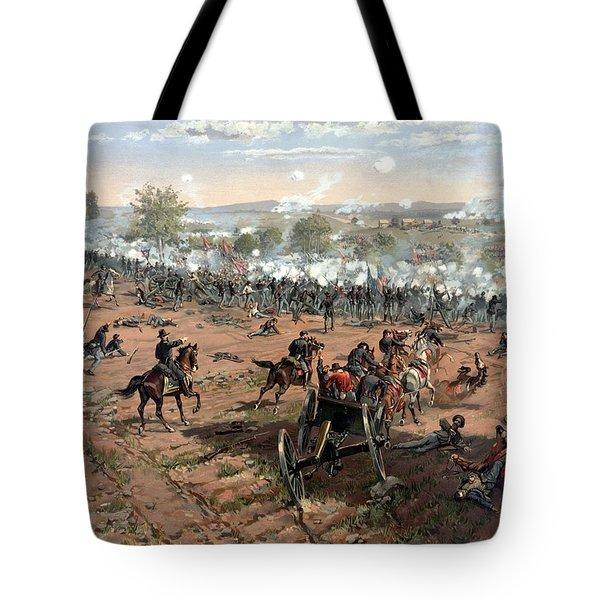 Battle Of Gettysburg Tote Bag