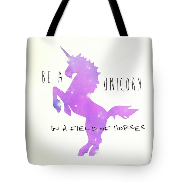 Being A Unicorn Tote Bag
