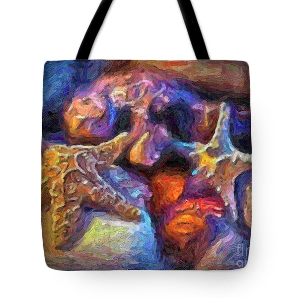 Tote Bag featuring the photograph Beach Finds by Walt Foegelle