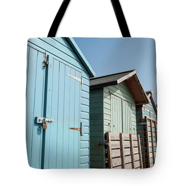 Beach Huts Vi Tote Bag