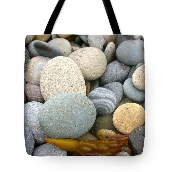 Beach Rocks Tote Bag