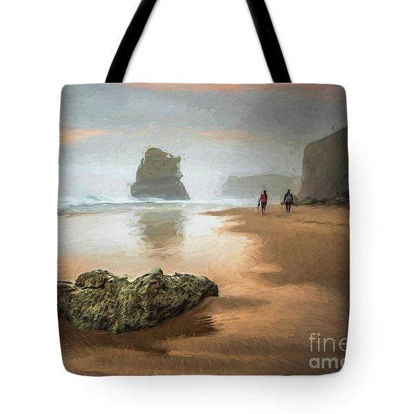 Beach Stroll Tote Bag