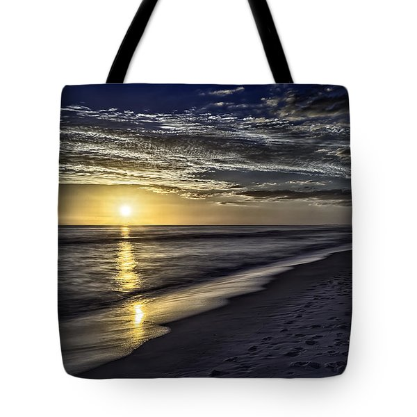 Beach Sunset 1021b Tote Bag