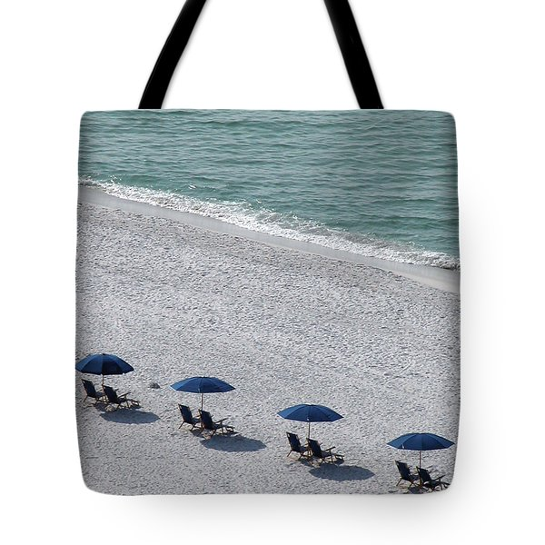 Tote Bag featuring the photograph Beach Therapy 1 by Marie Hicks