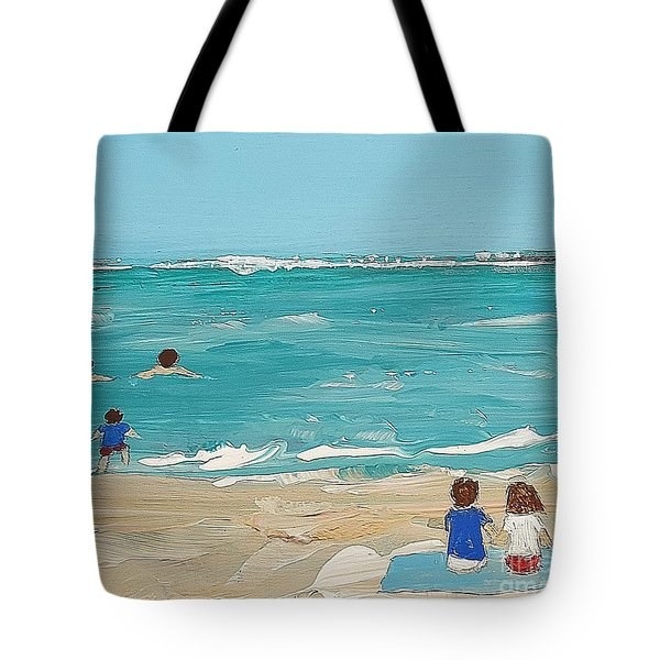Beach9 Tote Bag by Diana Bursztein