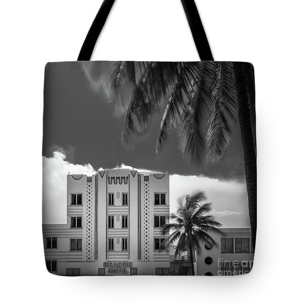 Beacon Hotel Miami Tote Bag