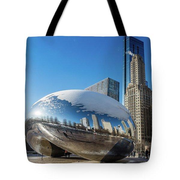 Bean Reflections Tote Bag