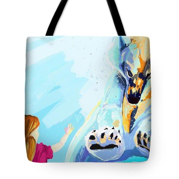 Bear Tote Bag by Lidija Ivanek - SiLa