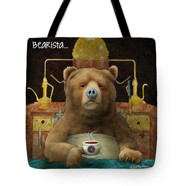 Bearista... Tote Bag