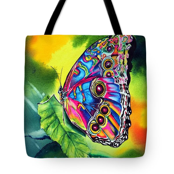 Beatrice Butterfly Tote Bag