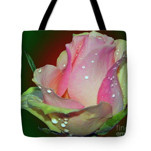 Beautiful Rose Tote Bag by Elvira Ladocki