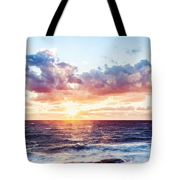 Beautiful Sea Landscape Tote Bag