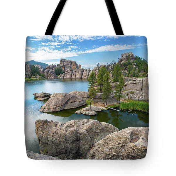 Beautiful Sylvan Lake Tote Bag