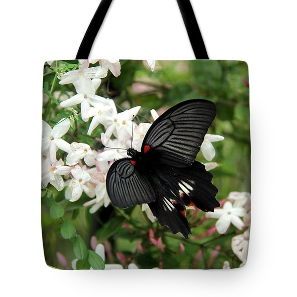 Tote Bag featuring the photograph Beautiful Wings by Yumi Johnson