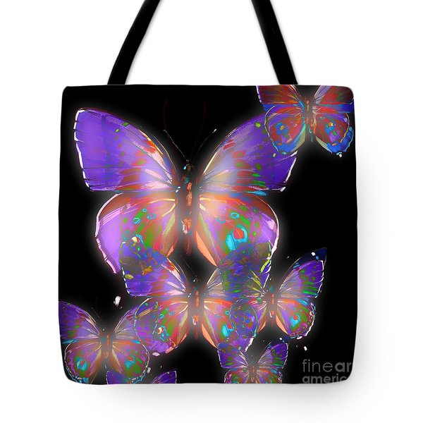 Beauty Of Butterflies Tote Bag