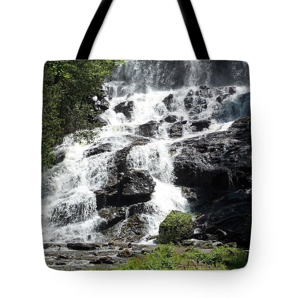 Beaver Brook Falls In Nh Tote Bag