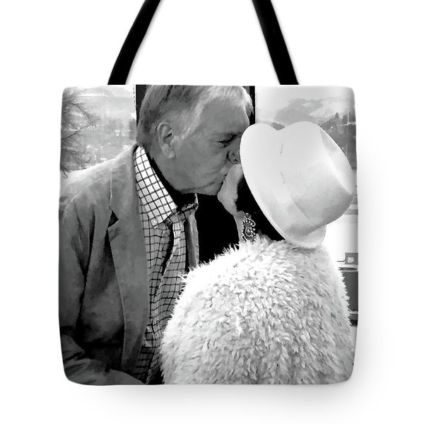 Becky's Kiss Tote Bag