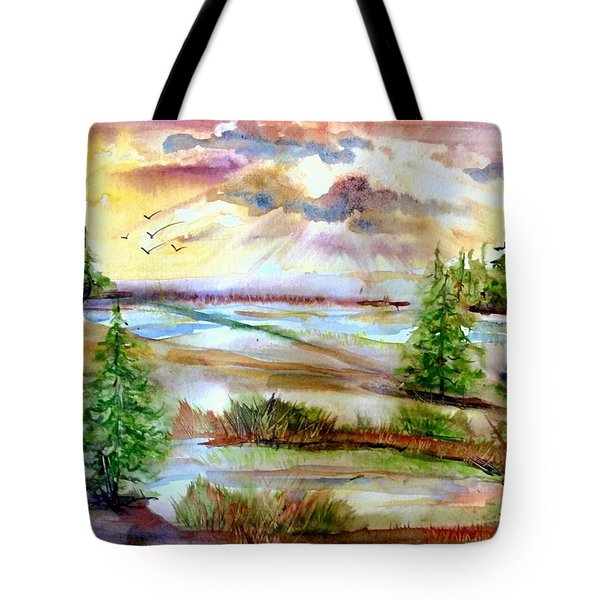Before The Sunset Tote Bag