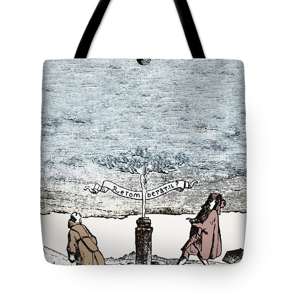 Behavior Of Falling Bodies Tote Bag by Omikron