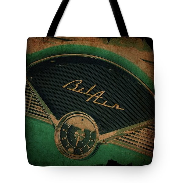 Tote Bag featuring the photograph Belair Dashboard by Joel Witmeyer