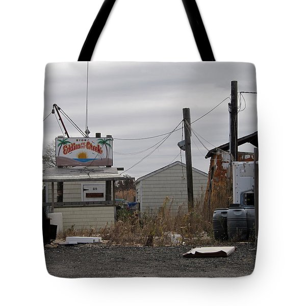Eddie's On The Creek Belford Tote Bag