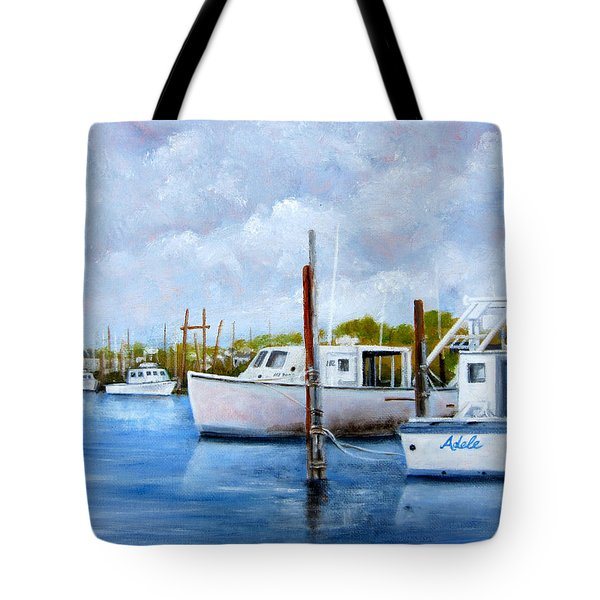 Belford Nj Fishing Port Tote Bag