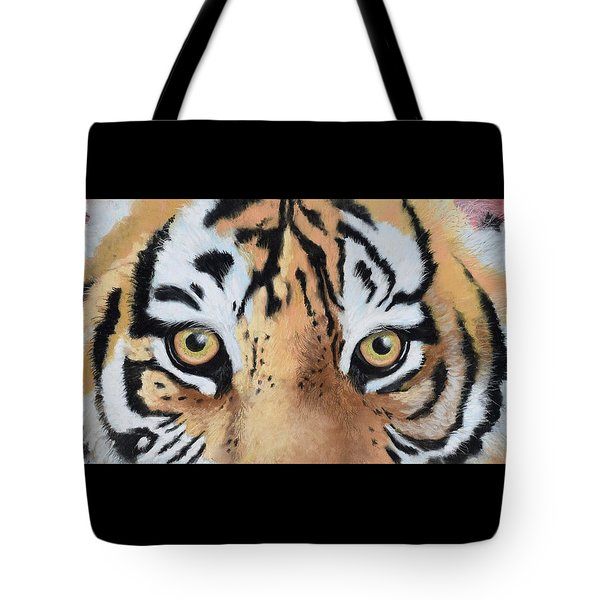 Bengal Eyes Tote Bag